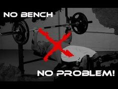"""Build a Bigger Chest with the """"BENCHLESS"""" Bench Press! - YouTube"""
