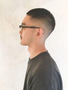 Japanese Men Hairstyle, Korean Men Hairstyle, Short Fade Haircut, Short Hair Cuts, Short Hair Styles, Cool Boys Haircuts, Haircuts For Men, Asian Man Haircut, Crop Hair