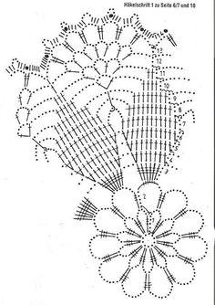 Kira scheme crochet: Scheme crochet no. 1008