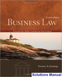 Financial markets and institutions 11th edition jeff madura test solutions manual for business law principles for todays commercial environment 4th edition by twomey fandeluxe Images