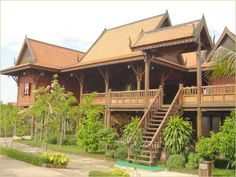 Cambodia traditional house