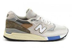 New Balance Herren M998NT2 x Konzepte C-Note Beige/Primär Olive/Weiß/Grau/Blau Bestellen Sale