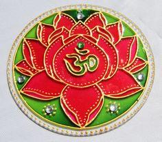 Mandala Art, Mandala Drawing, Mandala Painting, Silk Painting, Glass Painting Designs, Paint Designs, Cd Crafts, Arts And Crafts, Tin Foil Art