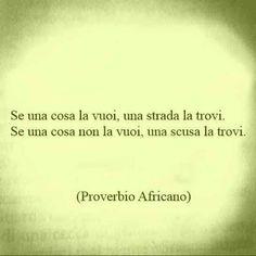 Saggezza africana.