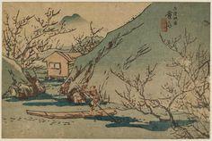 Keisai Eisen Title:The Peach Blossom Spring of Wuling (Buryô tôgen)