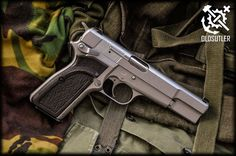 Browning High-Power custom grips 3 by halfdwarf Weapons Guns, Guns And Ammo, Guns Dont Kill People, Remington 700, Fire Powers, Cool Guns, Concealed Carry, Tactical Gear, Firearms