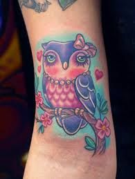 cute owl tattoo tumblr - Google Search