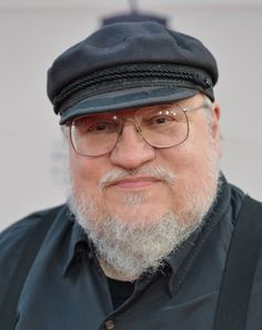 George R.R. Martin at event of Game of Thrones