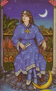 Mundo do Tarô: A sabedoria das mulheres não é raciocinar,...