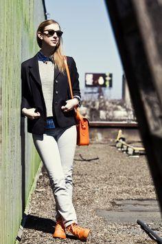 Sidewalk Hustle x Palladium Monochrome Lookbook-Bright Orange Full