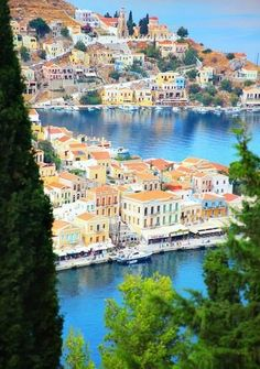 Greece Travel Inspiration - The beauty of Symi island, Greece Great Places, Places To See, Beautiful Places, Dream Vacations, Vacation Spots, Places Around The World, Around The Worlds, Places To Travel, Travel Destinations