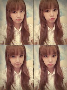 the cutie in all of Apink member :3 Park Chorong