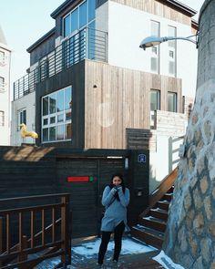Legend Of The Blue Sea Wallpaper, Heo Joon Jae, Architect Design, Travel Destinations, Multi Story Building, Street View, House Design, Seoul, Interior