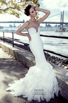 Stephen Yearick Bridal 2015  http://www.bridalreflections.com/bridal-dress-designers/stephen-yearick
