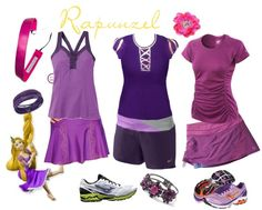 Tangled Laces - Three Rapunzel / Tangled running costume ideas