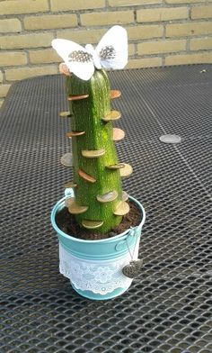 DIY a la Kell - Verjaardagscadeau op een andere manier! (Leuk geld geven!) Ook wel geld cactus genoemd!