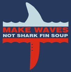 Anti Shark Fin Soup T-Shirt