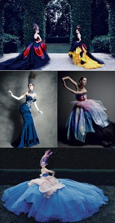 Dior Couture by Patrick Demarchelier – The Dream | Encircle the World - Fashion Photography - Fantasy - Light