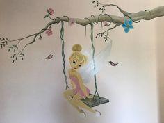 Disney Bedrooms, Tinkerbell, Iris, Deco, House, Baby Room Girls, Toddler Girls, Faeries, Bedroom