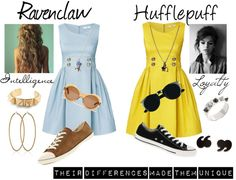 """Ravenclaw"" by fricken1d on Polyvore"