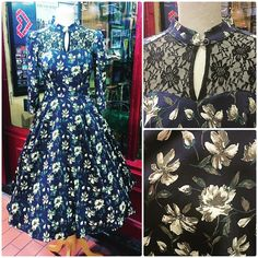 "29 tykkäystä, 1 kommenttia - Retro Shop Dublin (@retroshopdublin) Instagramissa: ""We are delighted to have gotten this beautiful dress back in stock 💙  #retroshopdublin #dotd #ootd…"""