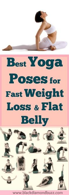 Yoga Poses How To Lose Weight Fast? If you want to lose weight badly and achieve that your dream weight, you can naturally lose that stubborn fat in 10 days with this best yoga exercises for fast weight loss from belly , hips , thighs and legs. It also si Yoga Fitness, Sport Fitness, Fitness Workouts, Fitness Plan, Sport Diet, Health Fitness, Yoga Beginners, Beginner Yoga Poses, Fitness For Beginners