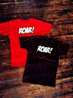"""ROAR"" - Supportblock Gegengerade und 1910 e.V. bringen T-Shirt heraus. Verkaufstart: Beim Heimspiel gegen Arminia Bielefeld - St. Pauli NU*de"