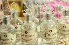 Perfumero Antique  / Label Design / El Perfumero