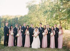 Blush gold orchard wedding: http://www.stylemepretty.com/2014/06/20/blush-gold-orchard-wedding/ | Photography: http://www.jenlynnephotography.net/