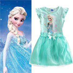 Frozen Jurk Elsa Mint