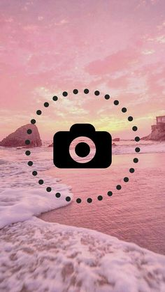 Instagram Logo, Instagram Feed, Instagram Background, Camera Icon, Insta Icon, Simple Wallpapers, Ocean Photography, Instagram Story Ideas, Cute Wallpaper Backgrounds