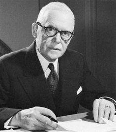 Louis Saint-Laurent, premier ministre durant les annees 50