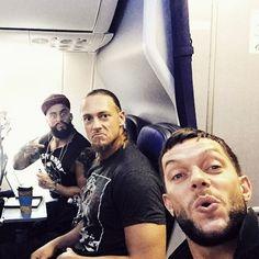 # WWE # Wrestling # Finn Balor # Enzo Amore # Big Cass # Fergal Devitt # Eric Anthony Arndt # William Morrissey # Sawft