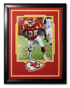 Eric Berry. Kansas City Chiefs. Autographed 8x10 photo.