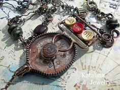 Katalina Jewelry: Road Trip - Junk to Jewelry Take a road trip from the usual - it's amazing what you can create with no boundaries!