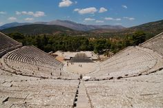 The acoustics at Epidavros will blow your mind. | Community Post: 49 Reasons To Love Greece