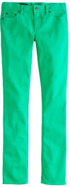 j crew Matchstick Jean in Garment dyed Denim - Lyst