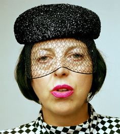 Isabella Blow (RIP). Forget Lady Gaga, Isabella did it all first. A true fashion ICON ♥ The inspiration for my daughters middle name. LJM