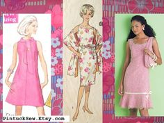 Easy dresses to sew right now