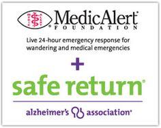 MedicAlert + Alzheimer's Association Safe Return | Caregiver Center | Alzheimer's Association
