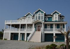 Twiddy Outer Banks Vacation Home - Black Pearl - Corolla - Semi-Oceanfront - 10 Bedrooms... this compairs to the house we stayed in this year!!!
