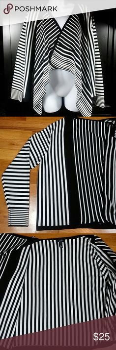 5af95c7b61d0 Alfani Striped Open-Front Cardigan-XL Owned-With No Signs Of Wear!