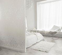 White, white and white