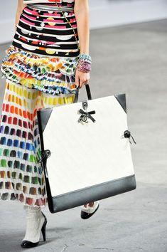 Chanel at Paris Fashion Week Spring 2014 - StyleBistro