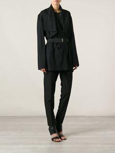 Lanvin Belted Jacket - Irina Kha - Farfetch.com
