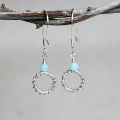 Eternal Dream Amazonite Beads and Silver by CammieLaneJewelry