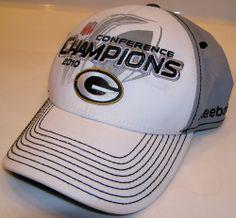 Reebok Green Bay Packers Super Bowl XLV NFL Trophy Collection Flex Fit Cap #Reebok #GreenBayPackers