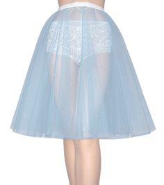 Baby Blue Net Petticoat
