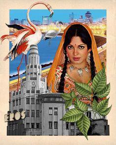 This digital illustration has got us dreaming of Bollywood.   We ❤️️it.   What about you?  .  .  . .  .  #mumbai #art #craft #artistsoninstagram #artist #india #digitalart #illustration #illustrator #artwork #delhi #bombay #parveenbabi #bollywood #marinedrive #eros #arttherapy #indiagram #culture #theculturegully #instagood #picoftheday #thursday #travelgram #travel #wanderlust #globetrotter #mumbaikar #artists #photography