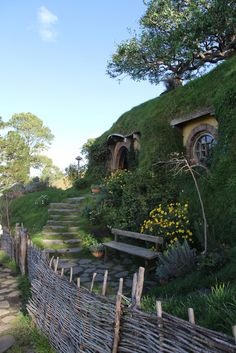 """The Shire"" from Lord of the Rings! In beautiful New Zealand"